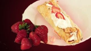 Strawberry Crepes Recipe : Crepes Recipes