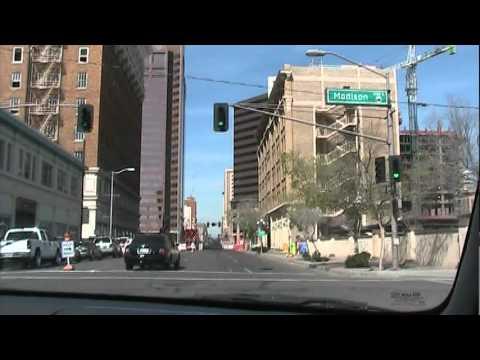 Phoenix Arizona Driving through cool tunnels!