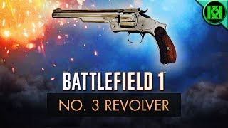 Battlefield 1 (BF1): Here's my No. 3 Revolver Guide/Review, including info, tips for using it best, gun stats + No.3 Revolver Gameplay. Unlock at assault rank 10 (Battlefield 1 Smith & Wesson Model 3 Gameplay shown) BF1 PS4 Pro GameplayBattlefield 1: No. 3 Revolver Review (Guide)  BF1 No. 3 Revolver GameplayStats Reference: http://symthic.com/The No. 3 (model 3) is a sidearm, and can be equipped on any class loadout as a secondary, but must first be unlocked by reaching rank 10 with assault class. Facebook:  https://www.facebook.com/kriticalkrisTwitter:  https://twitter.com/KriticalKrisMusic:Intro:Krale - Frontier (ft. Jasmina Lin & Jay Christopher) [NCS Release]http://www.youtube.com/watch?v=pGMojZB0Lm0Check out my channel: KriticalKris Channel : https://www.youtube.com/channel/UC5d9SQiZzg7qFcqF0xTOFXQ/feedhttps://youtu.be/Y5uYmrJICNE