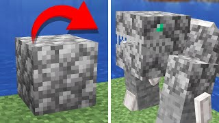 turning Minecraft blocks into Mobs