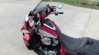 7. 2019 Indian Motorcycle Roadmaster Icon Series walkaround