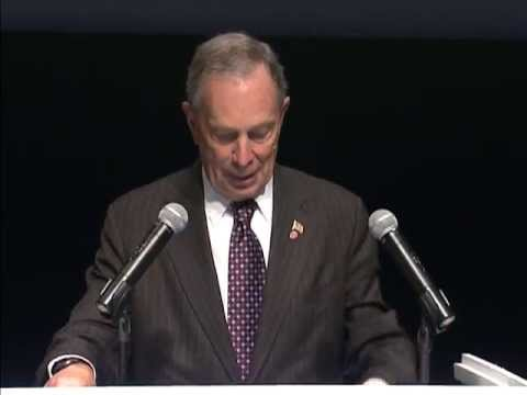 Announces - Mayor Bloomberg Announces Jim Henson Exhibit at The Museum of the Moving Image 05/21/13.