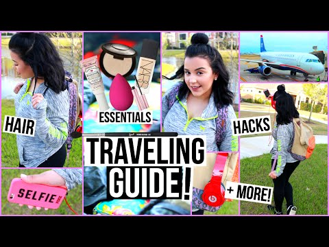 Traveling Guide: Essentials, Outfits + Life Hacks!