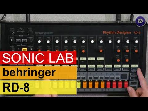 SonicLAB: Behringer RD-8 Drum Machine - First Look