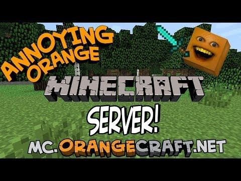 ORANGECRAFT! – The Annoying Orange Minecraft Server