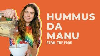STEAL THE FOOD apresenta: como fazer hummus em casa