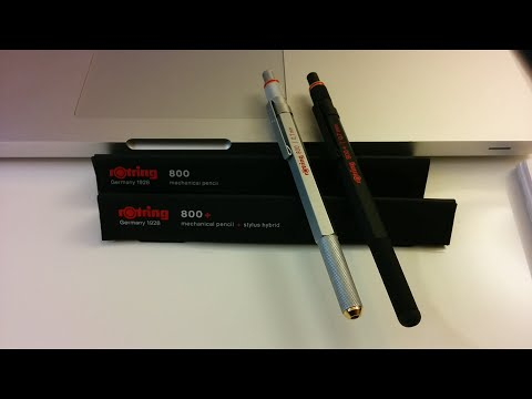 rOtring 800 and 800+ Mechanical Pencils review