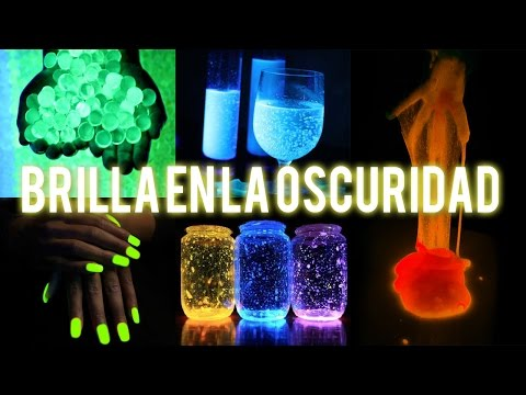 DIY 5 Ideas Que Brillan En La Oscuridad - Tutoriales Belen