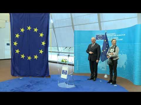 Игорь Додон преподнес Совету Европы подарок от имени нашей страны
