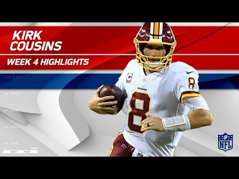 Video: Kirk Cousins' Gritty Performance vs. Kansas City | Redskins vs. Chiefs | Wk 4 Player Highlights