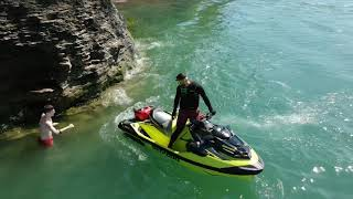 6. Memorial Day 2019 - SeaDoo RXT 230 - RXT-X 300 - Lake Erie - Jet Ski - PWC - Cliff Jumping - DJI