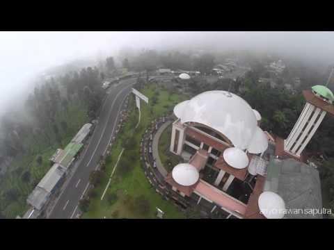 masjid atta'awun aerial video