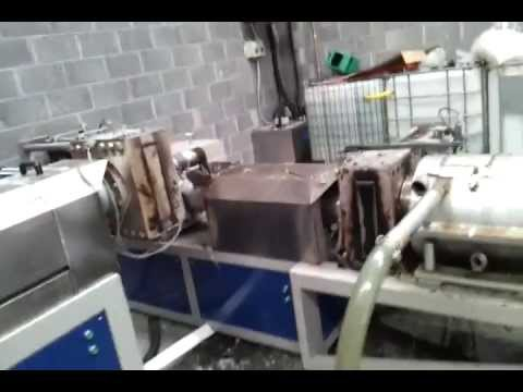 Material processing at Eco-plastic & Recycling Ltd.