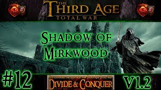 Welcome to part 12 of my playthrough of a campaign in Third Age Total War: Divide and Conquer version 1.2 as the Shadow of Mirkwood.Third Age Total War is a mod for Medieval II: Total War Kingdoms that totally converts the game into the Lord of the Rings universe allowing you to control the armies of Middle-Earth and fight for dominion as whoever you wish to play. Divide & Conquer is a sub-mod for Third Age Total War that expands upon the mod, adding tons of new factions, units, scripts, art and more!Divide and Conquer Homepage: http://www.twcenter.net/forums/showthread.php?736995-Divide-and-Conquer-Version-1-01Arachîr Galudirithon's Installation and Modding Guides: https://www.youtube.com/playlist?list=PLesZst-z4ywYhITHvYbpDq8HpWwKAYwRjDownload for DaC Extra Loading Screens Mod: http://www.mediafire.com/file/a7rutzqp7kwacug/DaC_Loading_Screens.rarDownload for 1920x1080 LOTR Wallpaper Compilation: http://www.mediafire.com/file/iz0qk6rp7x5t4a7/1920x1080_LOTR_Art.rarThanks for watching! Don't forget to LIKE and SUBSCRIBE if you enjoyed the video! :)