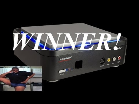 HDPVR WINNER ANNOUNCED!!! (2 More Giveaways)