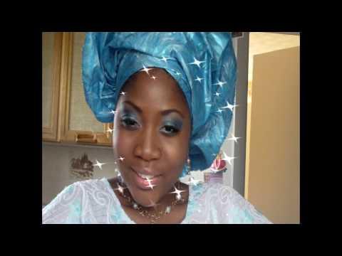 Nigerian Bride Make-up tutorial.