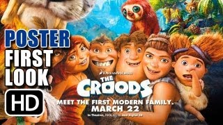 THE CROODS Movie Poster (2013)