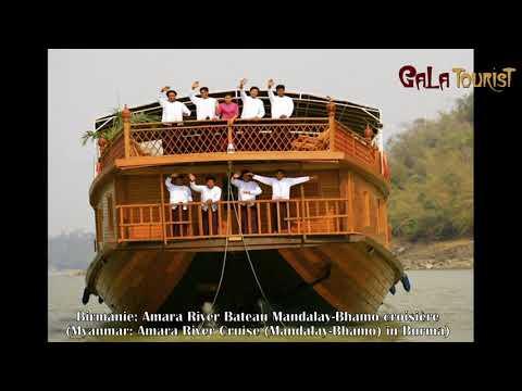 Myanmar: Amara River croisière Mandalay - Bhamo en Birmanie - Galatourist