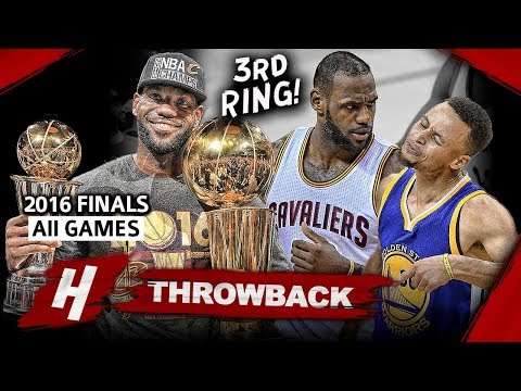 LeBron James 3rd Championship, EPIC Full Series Highlights vs Warriors 2016 NBA Finals - Finals MVP!