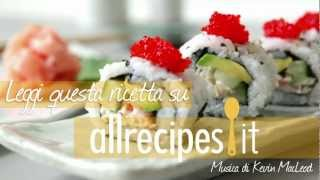 Videoricetta: come fare i California rolls