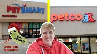 SHOPPING AT PETSMART AND PETCO | Pet Store Vlog by Pickles12807