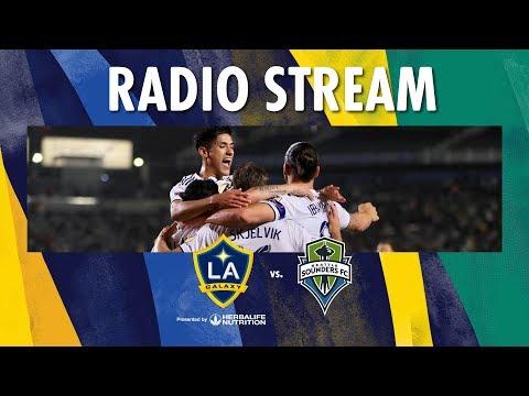 Video: LA Galaxy vs Seattle Sounders | Radio Live Stream
