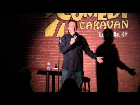 Brian Bates at Comedy Caravan