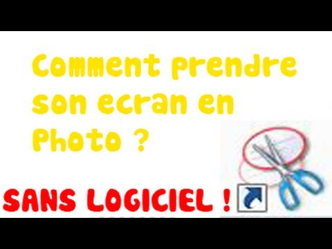 comment prendre en photo son ecran d'ordinateur portable