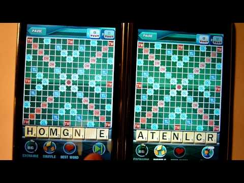 iPhone multiplayer test: SCRABBLE by Electronic Arts