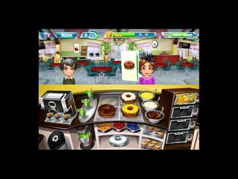 Cooking Fever [iPad Gameplay] Bakery Level 24