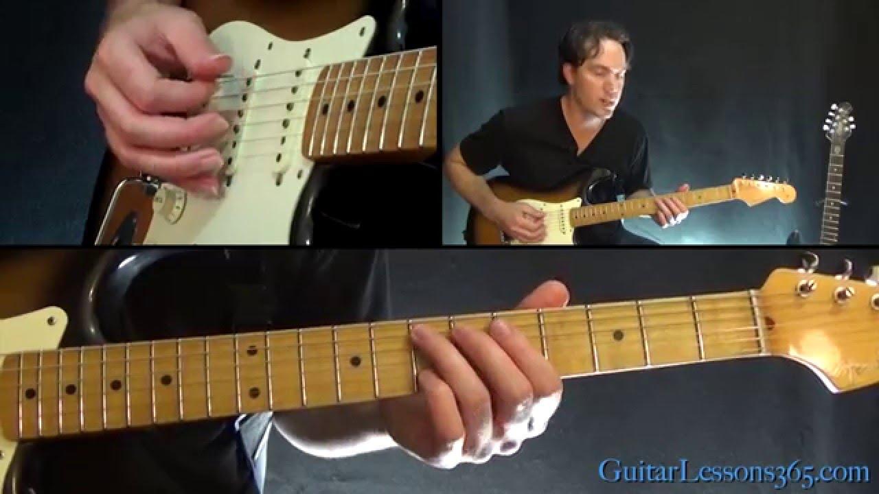 Mississippi Queen Guitar Lesson – Mountain – Riffs & Intro Solo