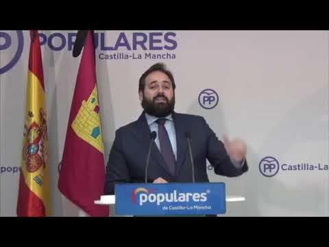 """El PP de Paco Núñez reclama al Gobierno de Page que ponga sobre la mesa """"urgentemente"""" 5 millones de euros para autónomos y pymes"""