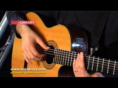 Bossa Nova Guitar Lesson Part 1 With Giorgio Serci Licklibrary