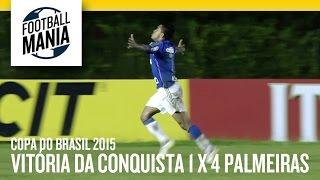 Copa do Brasil 2015 - First Round - 1st Leg Vitória da Conquista (BA) 1-4 Palmeiras (SP) Lomanto Junior Stadium - Vitória da...