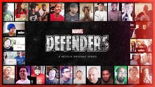 Video THE DEFENDERS (Marvel) Official Teaser Reaction's Mashup MP3, 3GP, MP4, WEBM, AVI, FLV Mei 2017