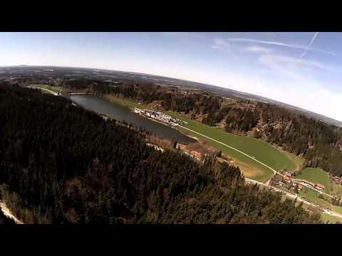 Flug am Blomberg