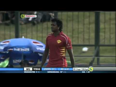 Sri Lanka beat New Zealand, ICC Champions Trophy, 2006