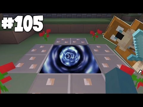 Minecraft Xbox – Slippery Survival – Super Secret Portal!! [105]