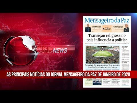 Boletim Semanal de Notícias - CPAD News 158