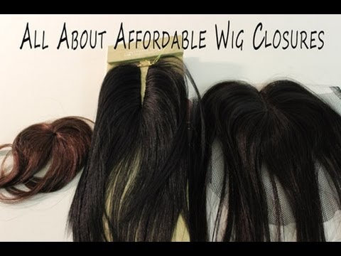 Wig Making 101 Series| Affordable Wig Closures (lace, Circle, Invisible Part.....)