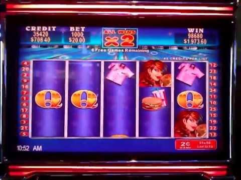 Max bet $20 a spin multi retrigger big handpay
