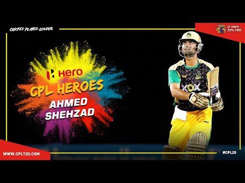 CPL HEROES | AHMED SHEHZAD | #CPL20 #CricketPlayedLouder #CPLHeroes #AhmedShehzad