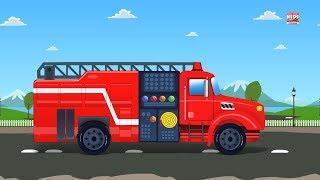 Video truk kebakaran garasi mobil video pendidikan kendaraan untuk anak Kids Learning Video Fire Truck MP3, 3GP, MP4, WEBM, AVI, FLV Oktober 2018