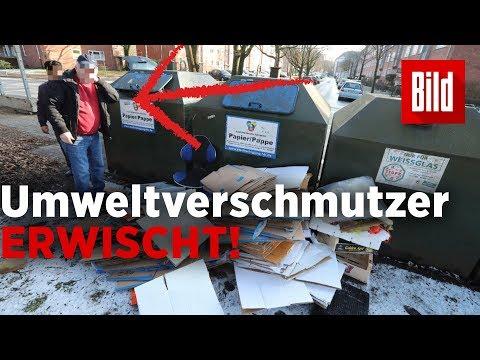 Altpapier illegal in Hamburg entsorgt – Täter ertappt ...