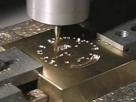 IS6000XP machining a Hot Stamp Die