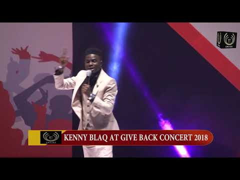 Kenny blaq @ give back concert by Ooni of Ife
