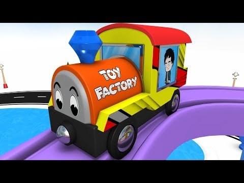 Toy Train - Train for Children - Cartoon for Kids -  Toy Factory - Chu Cho Train - Trains for kids
