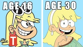 Video 10 Loud House Characters ALL GROWN UP MP3, 3GP, MP4, WEBM, AVI, FLV Juni 2018