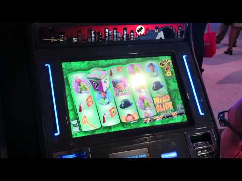 G2E – Classic Batman TV Slot Machine at the G2E in Las Vegas 2013!