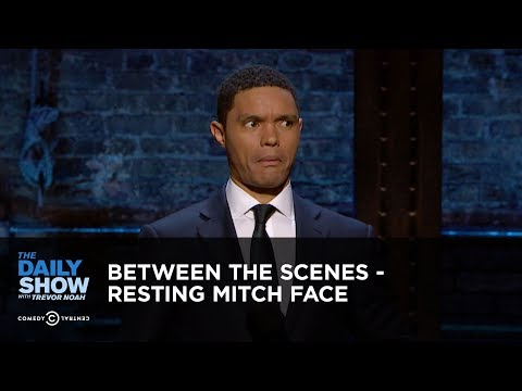Between the Scenes - Resting Mitch Face: The Daily Show
